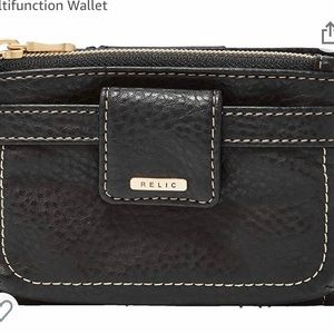 New Black Wallet *Relic by Fossil*